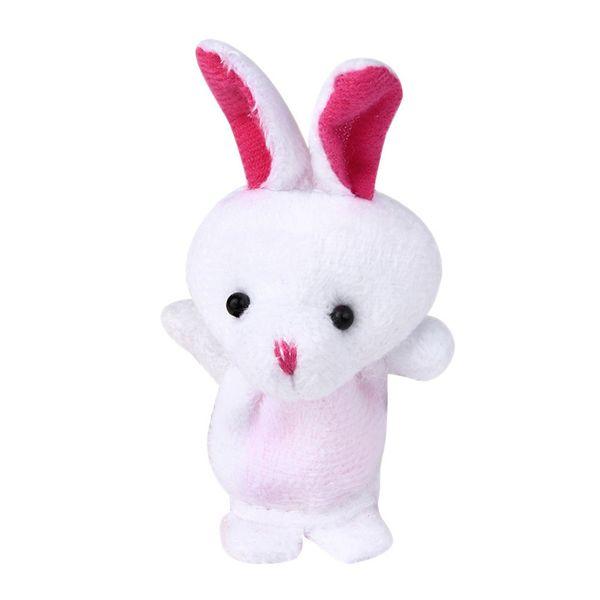 Hot Sale 3pcs Animal Finger Puppet Plush Child Baby Early Education Toys Gift