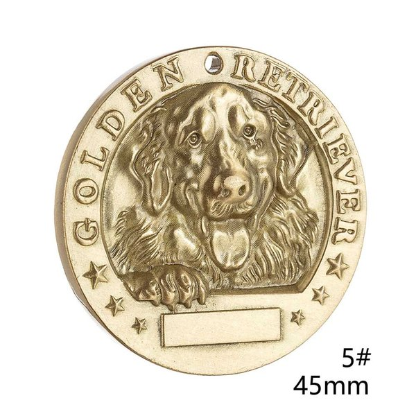 5 # 45mm Golden Retriever