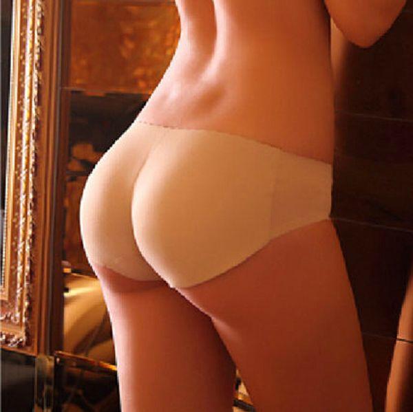 Fashion Sexy Padded Panties Seamless bottom Panties Buttocks Push Up Lingerie Women's Underwear Good quality Butt lift Briefs
