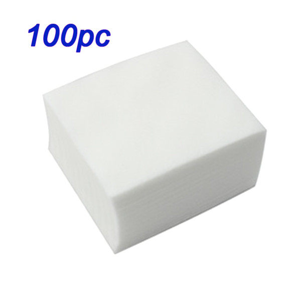 New 100pcs/set Nail Art wipe Manicure Polish Gel Nail Wipes Cotton Lint Cotton Pads Paper Acrylic Gel Tips Remover Napkins
