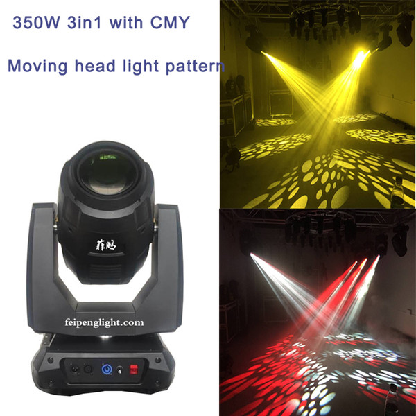 best selling Hot sell high quanlity 350W 3in1 spot beam moving head light Philips MSD Platinum 17R CMY moving head stage light 26 DMX channels
