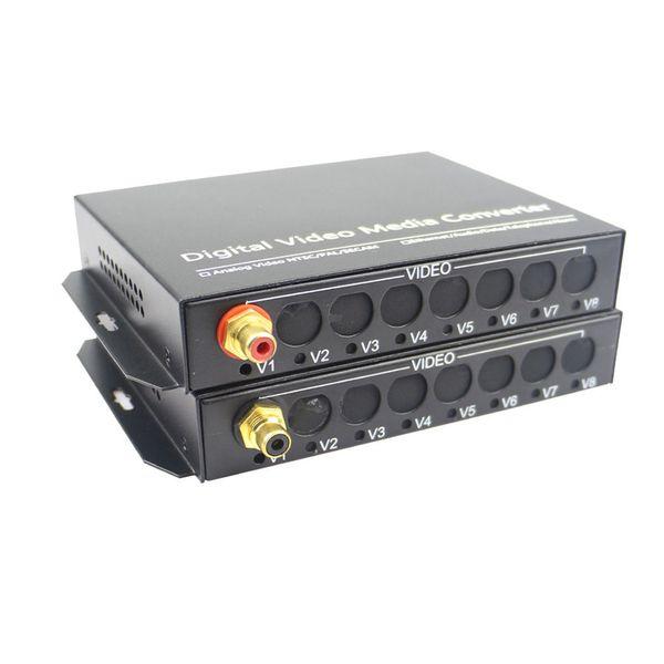 Convertitore multimediale per ricevitore ricevitore a fibra ottica audio Hi Fi 1CH per trasmissione