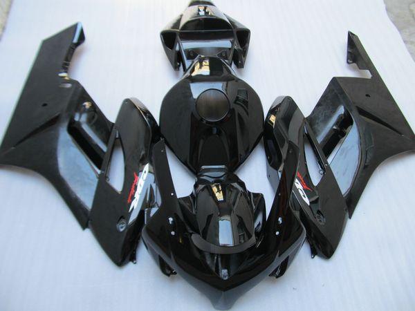 Hot sale Injection mold Fairings for Honda CBR1000RR 2004 2005 all black fairing kit CBR 1000 RR 04 05 UW25