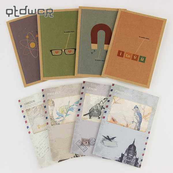 1PC Korea Stationery New Dream Youth Retro Exotic Small Blank Notebook Notepad Learning Supplies