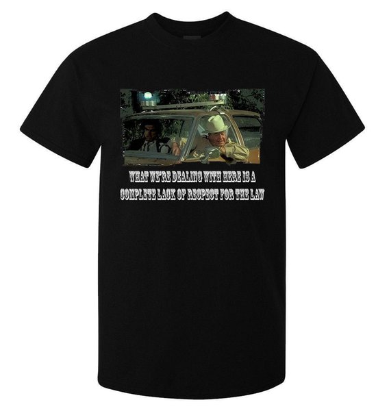 What we/'re dealing with here slogan Smokey and the Bandit men/'s t shirt black