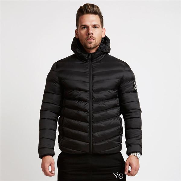 Оптовые мужские новые зимние теплые хлопчатобумажные мягкие мужские тепловые шапка молния куртка мужская короткая хлопчатобумажная мягкая одежда мужские дизайнерские зимние пальто