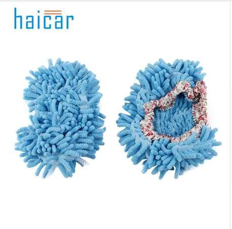 Cleaning Cloths 2Pcs Fashion Convenient Dust Mop Slipper House Cleaner Lazy Floor Dusting Foot u70918