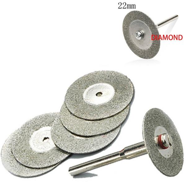 10x 35mm zubehör Diamanttrennscheibe Fit Bohrer Werkzeug mit Zwei DornR.DE