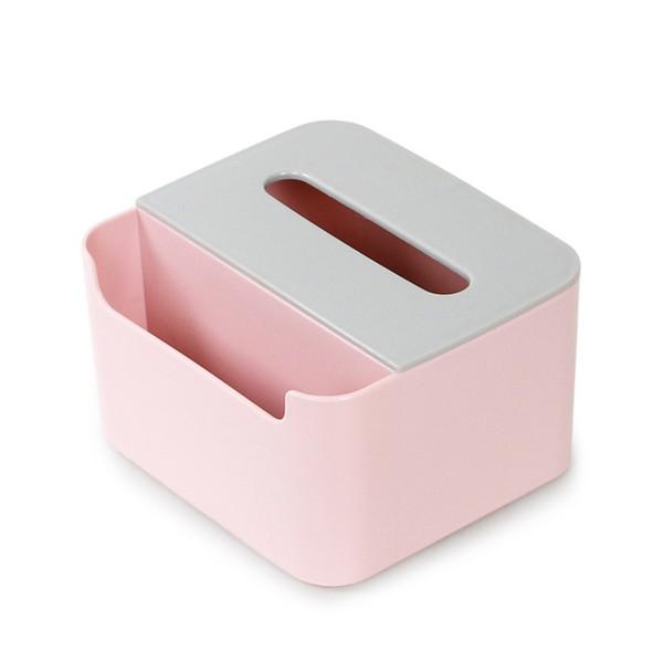 핑크 티슈 박스