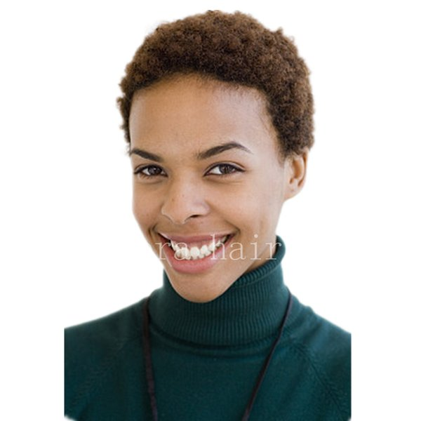 Echthaar kurze lockige Perücken für schwarze Frauen billig volle Spitze brasilianische Pixie Cut Afro verworrene lockige indische Echthaar Perücken neue Perücken