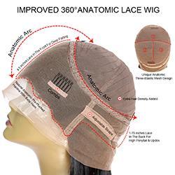360 peluca de encaje