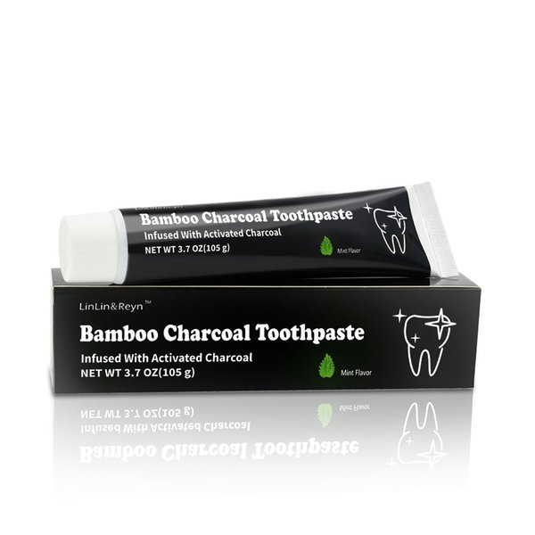 Brand New OEM Top Selling 105g Black Tooth Care Natural Bamboo Charcoal Activated Teeth Toothpaste Oral Hygiene Dental Care