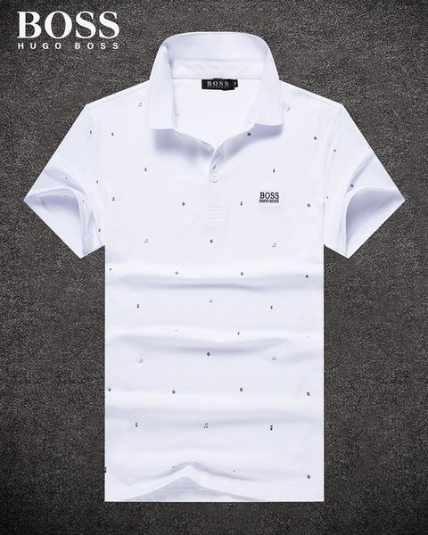 2018 Nouveau Style Cross Border Pour Nouveau Modèle Printemps Été En Été Vêtements Hommes POLO Non Doublé Vêtements Supérieurs Revers De Mode Marée T-shirt