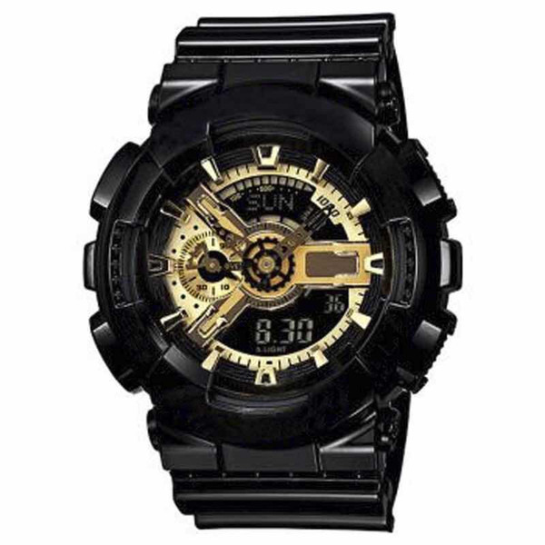 2018 new Fashion Arrival Mens G Style Military Wristwatches Multifunction LED Digital Shock Quartz Sport Watches for Man Male Students Clock