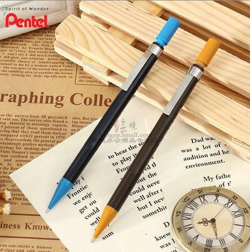12 Pieces Japan Pentel A125 A127 A129 0.9mm drawing mechanical pencil with Eraser high quality