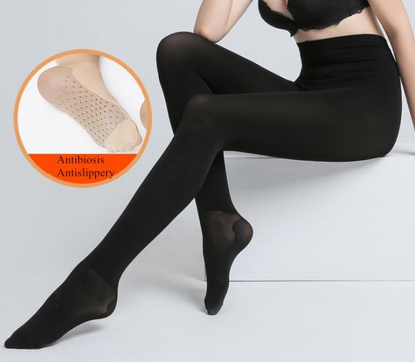 Sexy Plus Size Women Postpartum 480D Graphene Opaque Footed Tights Pantyhose Thick Tights Stockings Antibiosis Antislippery Women Tights