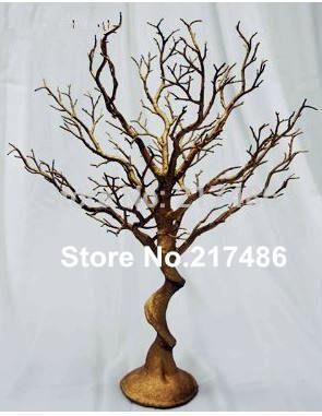 (no crystal including )new manzanita tree wedding, wedding table tree centerpieces