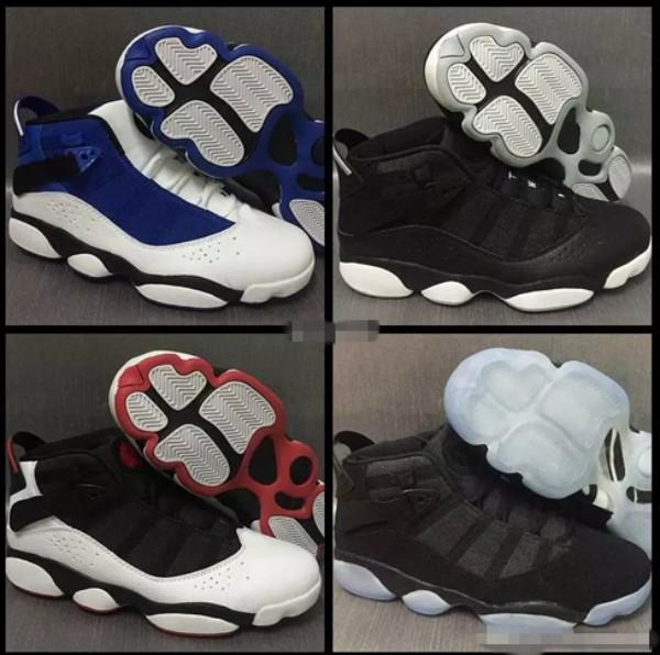 6 VI Rings Six Alternate Men Basketball Shoes Mens Trainers 6s Sport Shoe Blue Black Basket ball Sneakers Trainers Size 7-11