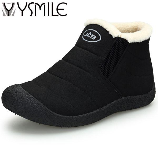Alta calidad de la moda de invierno cálido agregar mujeres de felpa botas botas de suela gruesa botas de nieve femenina para mujer botines de goma zapatillas de deporte calientes