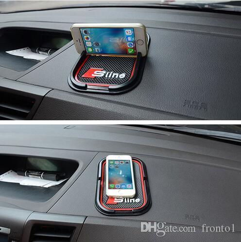 Multi-function car Anti Slip pad Rubber Mobile Sticky Dashboard Phone Shelf Antislip Mat For GPS MP3 Cell Phone Car Styling
