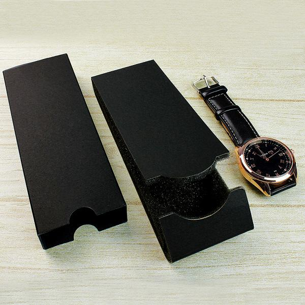 10Pcs/Lot New Fashion Simple Style Design Folding Watch paper Boxes Lightweight Factory Outlets forleather watches Gift Boxes