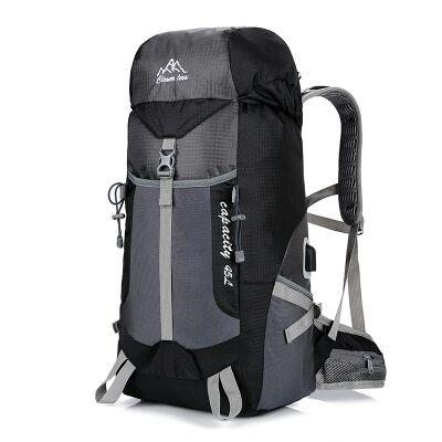 New Camping Travel Outdoor Ultra Light USB Charging Sports Backpack Hiking Backpack Travel Wild Mountaineering Bag