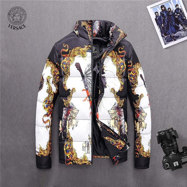 Man Loose Coat Increase Down Thickening Men's Cotton-padded Clothes 2018 Winter mens jackets windbreakers
