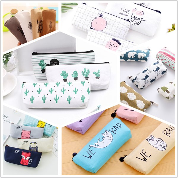 1pcs/sell Select Canvas Womens Travel Cosmetic Bags High Quality Makeup Bag Make Up Bag Neceser Luxury Brand Famous Brands