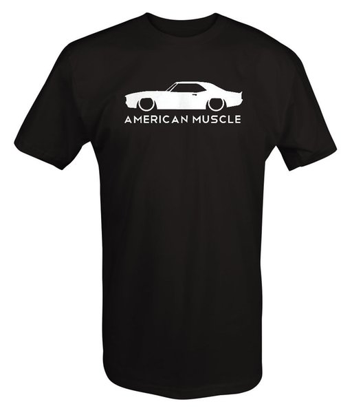 Amerikanischer Muskel-Chevy Camaro SS z28, der V8-Auto-klassische Siebzigerjahre läuft - T-Shirt Lustiges freies Verschiffen Unisex-beiläufige T-Stück Spitze
