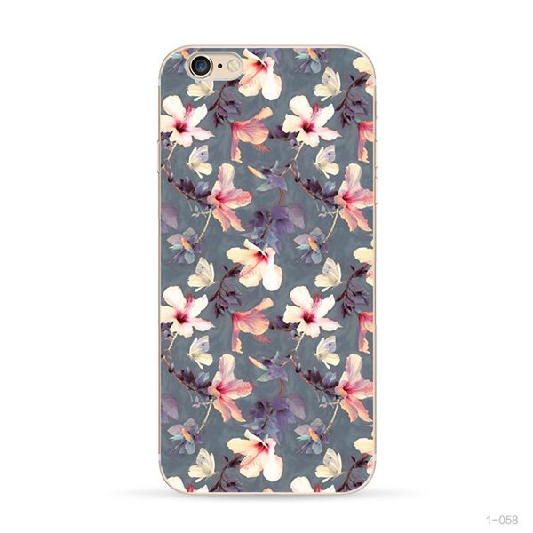 Flower Case For Iphone 7 8 Waterproof Durable TPU IPhone Case Cheap Sale Online Fast Delivery