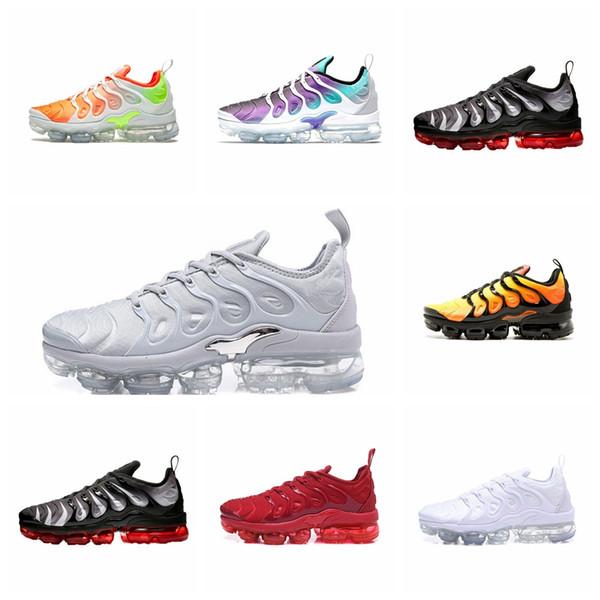 tn обувь 2018 новый tn plus Ultra Silver Traderjoes мужчины кроссовки Colorways мужской пакет Спорт TNS м