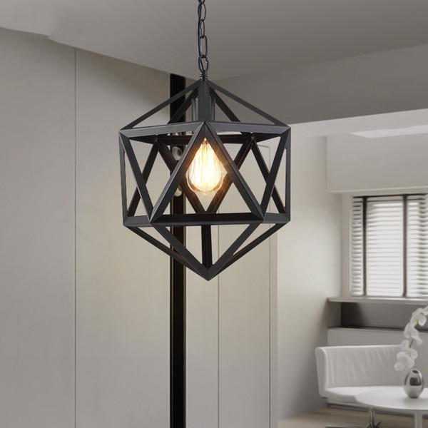 Acquista American Retro Lampade A Sospensione Industrial Interior Deco  Lampade A Sospensione Illuminazione Interni Soggiorno A $67.91 Dal Biaiju |  ...