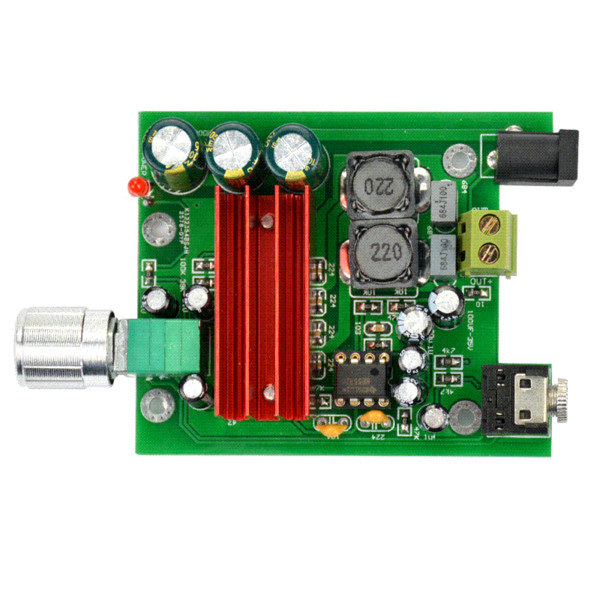 TPA3116 100W Subwoofer Digital Power Amplifier Board TPA3116D2 Amplifiers NE5532 OPAMP 8-25V wholesale tpa3116 100w