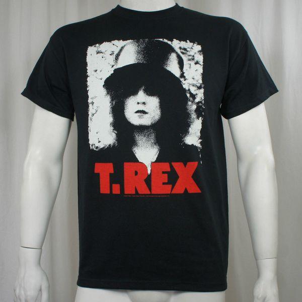 Authentic T. Rex Marc Bolan Pixellated Photo T-Shirt S M L Xl 2Xl New T-Shirt Men Fashion Short Sleeve Thanksgiving Day Custom XXXL
