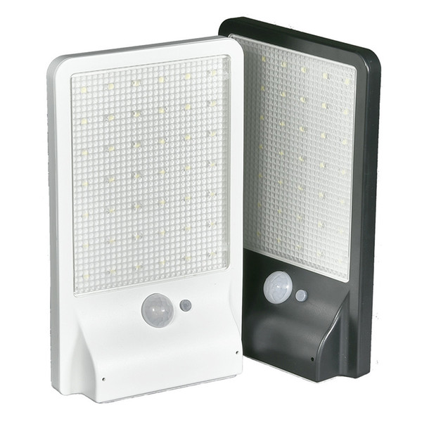 best selling LED Solar Light Outdoor PIR Motion Sensor wall Lamps 42 LED Solar Power Street Light Garden Security Lamp Street Waterproof Wall Light