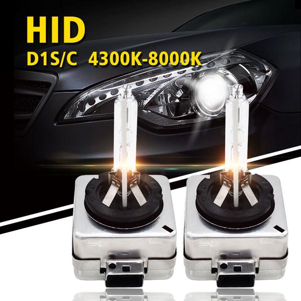 SKYJOYCE 1 Pair D1S Xenon Bulbs 35W D1S HID Bulb Replacement 6000k HID Xenon Lamp for Car Headlight