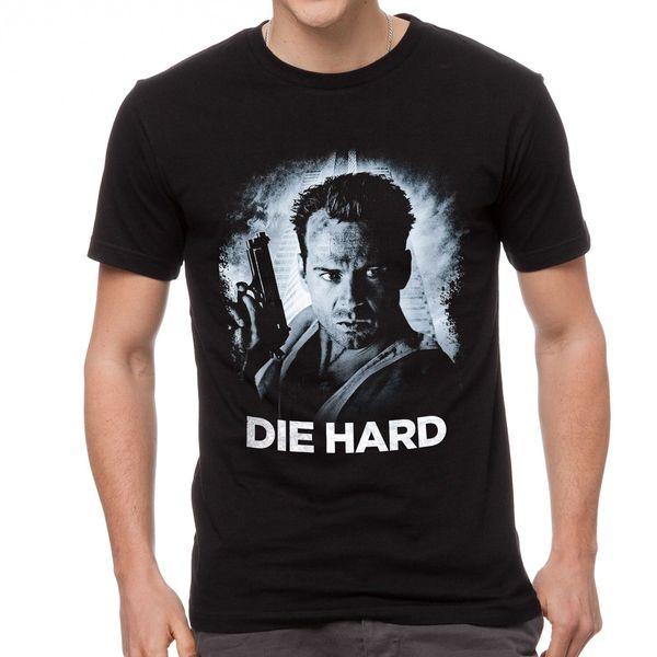 Die Hard Men T-Shirt Black Clothing 3-A-151 T Shirt For Men Fashion Custom Short Sleeve Boyfriend's Plus Size Group Tshirt