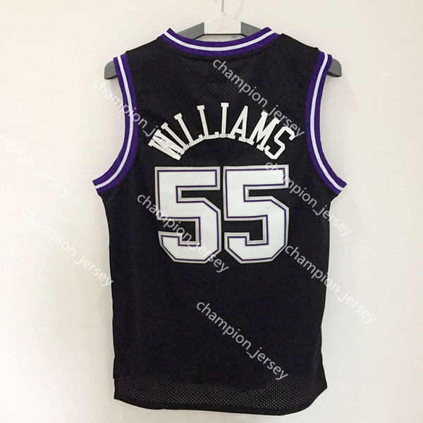 detailed look bc768 48cad 2018 Very Popular Men Sacramento kings jerseys 4 Chris webber 55 Jason  Williams Basketball Jersey Cheap Embroidered Logos From Champion_jersey, ...