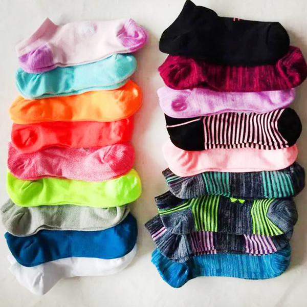 best selling Ankle Socks P & U & A Men Women's Socks Boys & Girl's Short Sock Outdoors Sports Basketball Cheerleader Socks Multicolors Cotton