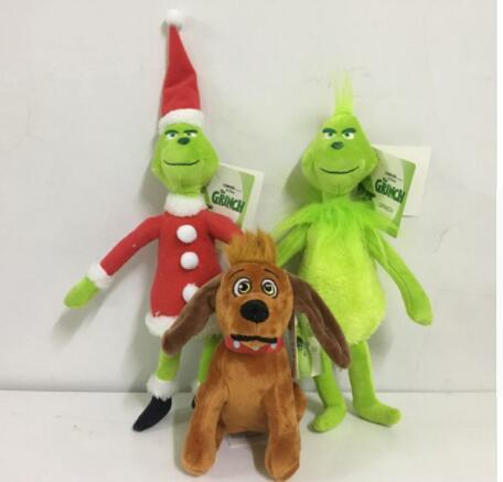 The Grinch Who Stole Christmas Dog.2019 Movie The Grinch Plush Toy 18 40cm How The Grinch Stole Christmas Grinch Dog Plush Doll Toy Soft Stuffed Toys Kka6287 From Top Toy 3 92