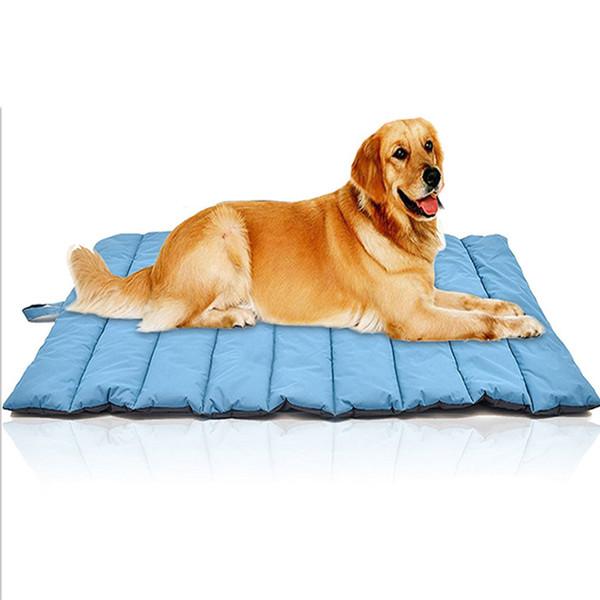Big Size Waterproof Folding Pet Dog Mat Kennel Warm Soft Outdoor Large Pet Dog Bed House Mat Blanket