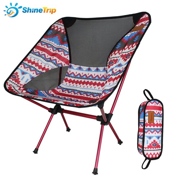 Camp Furniture Outdoors Colourful Folding Chair Aluminum Alloy Fishing Chairs Super Light Wear Resistant And High Waterproof 140tq W