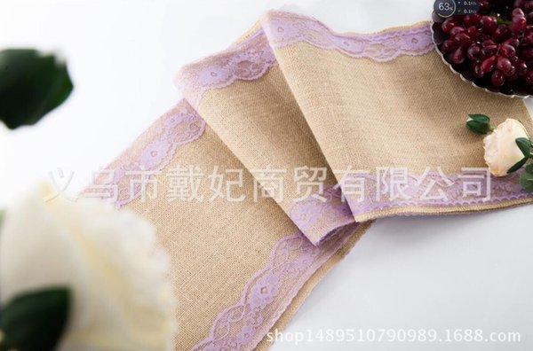 purple lace edge