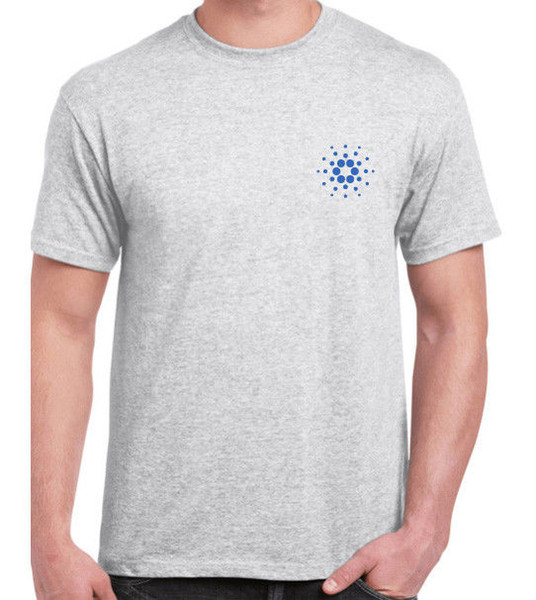 CARDANO ADA Cryptocurrency logo t-shirt