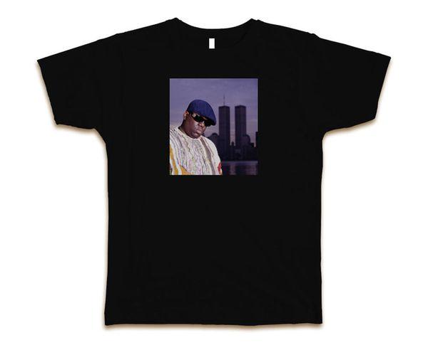 Biggie World Trade Custom Mens Fashion T-Shirt Tee S-3XL New-BlackBrand T-Shirt Men 2018 Fashion