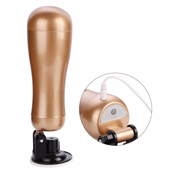 Mens Hands Free Masturbator 36 Speeds Vibrator Pussy Realistic Vagina Sex Male Masturbation Machine Adult Sex Toys for Men
