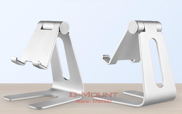 Alüminyum telefon masası dağı eğim braketi pembe siyah altın gümüş tablet ipad tutucu desteği