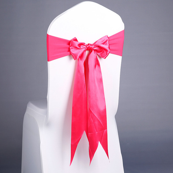 Chair Covers Sashes Band Top Quality Free Chair Sash Ribbon For Wedding Events And Party Decoration Tie Bands wn524