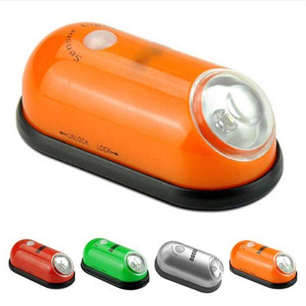 Portable Wireless Motion Sensing Light Battery Powered LED PIR Night Light For Bedroom Cupboards Hallways Workrooms Cellars