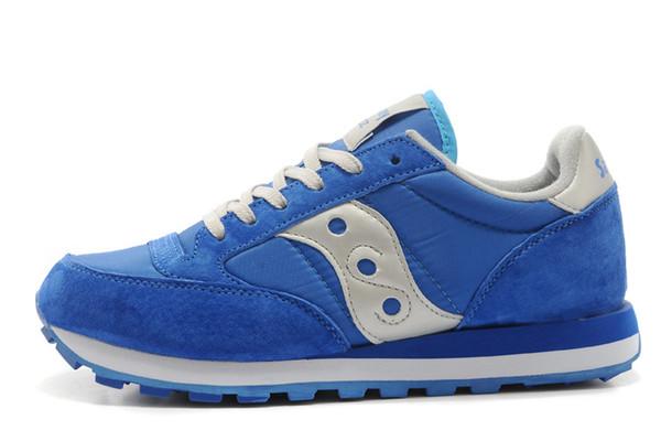 Hombres Saucony Jazz Original Zapatillas Azul